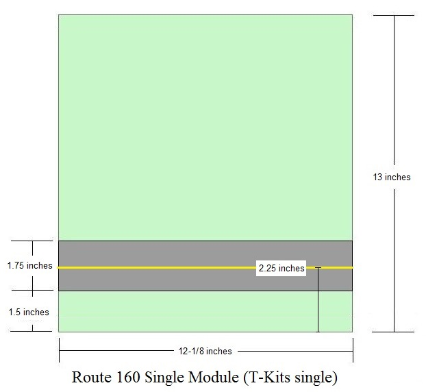 Route 160 Single Module Surface